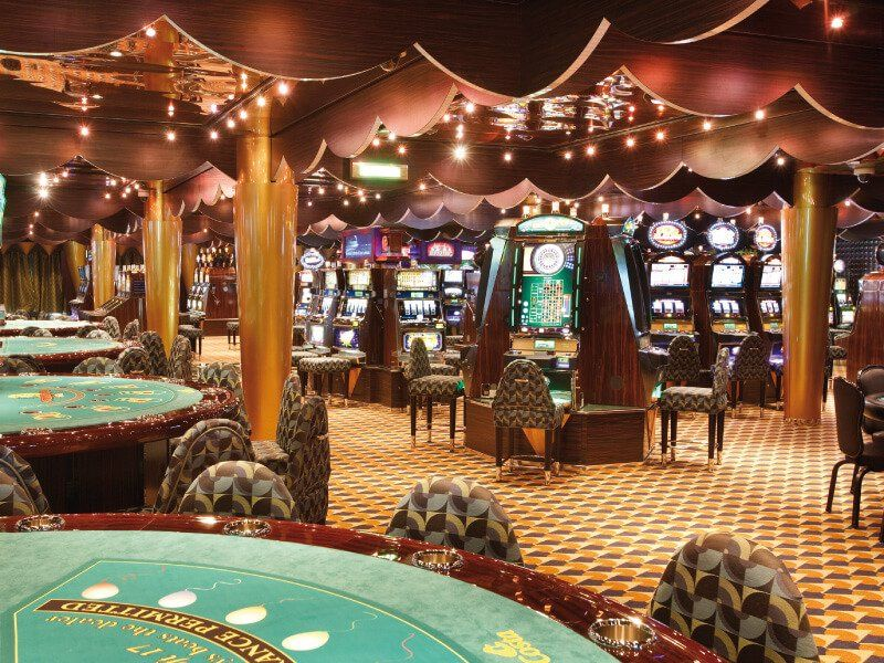 Casino du bateau de croisière Costa Luminosa