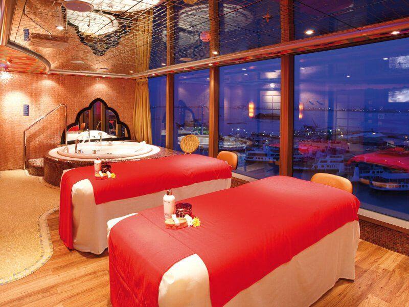 Salle de massage du bateau de croisière Costa Luminosa