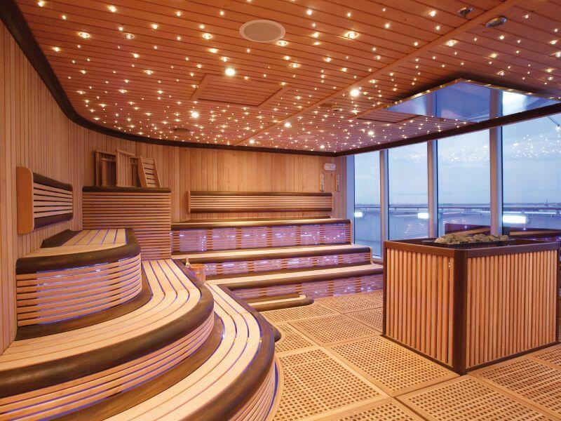 Sauna du bateau de croisière Costa Luminosa