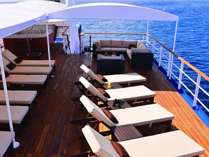 Transat à bord du bateau de croisière Celebrity Xperience