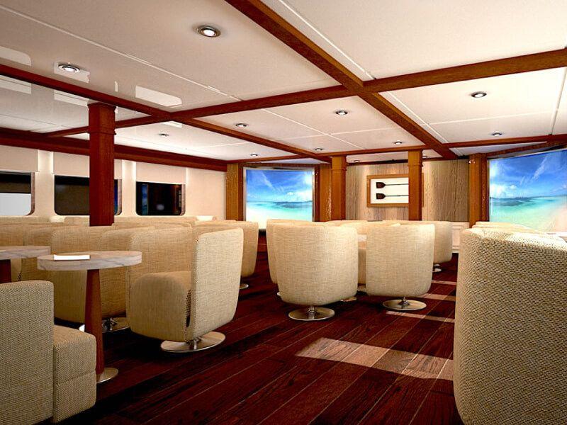 Lounge du bateau de croisière Celebrity Xperience