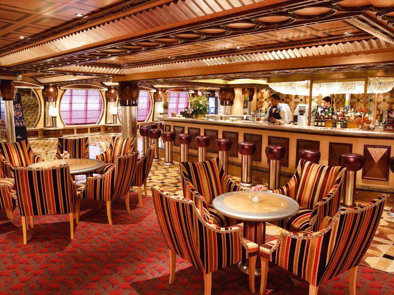 Bar Rhapsody du bateau de croisière Costa Pacifica
