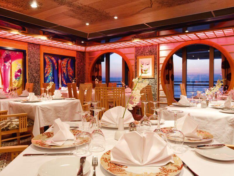Restaurant Samsara du bateau de croisière Costa Pacifica