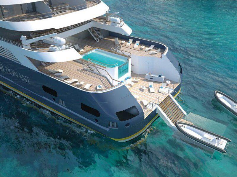 Marina : croisière Le Champlain