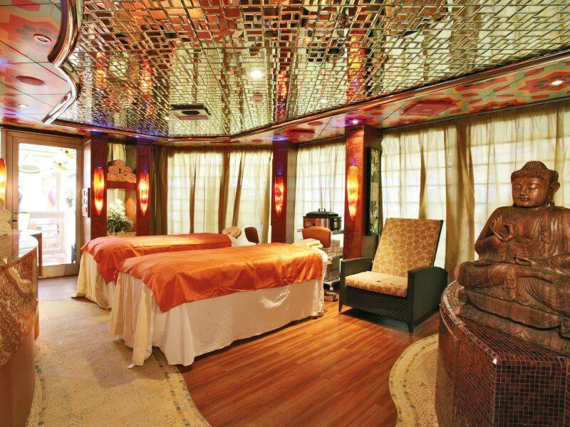 Salle de massage du bateau de croisière Costa Serena
