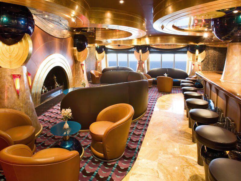 Cigares Bar du bateau de croisière Costa Serena