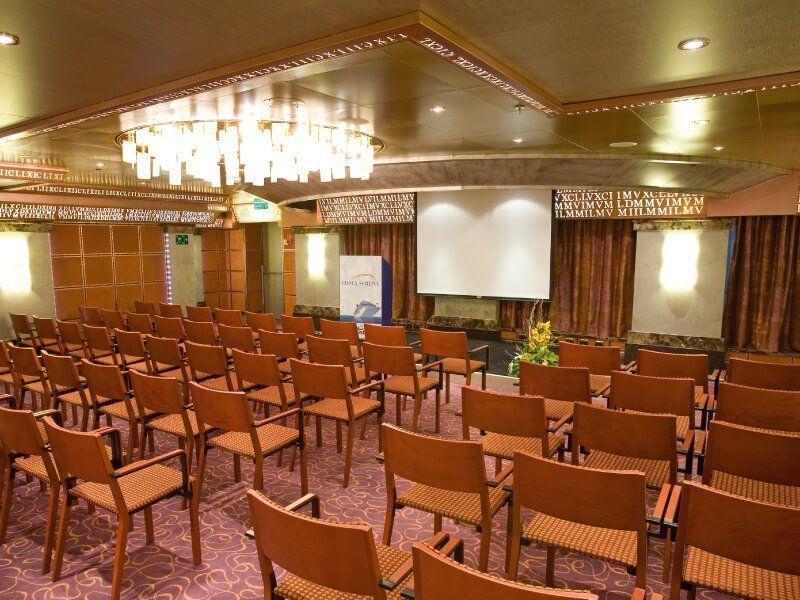 Salle de conférence du bateau de croisière Costa Serena