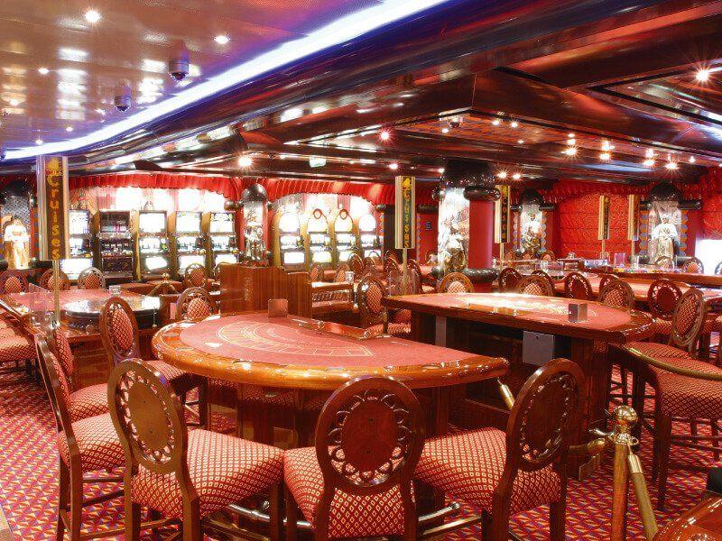 Casino du bateau de croisière Costa Magica