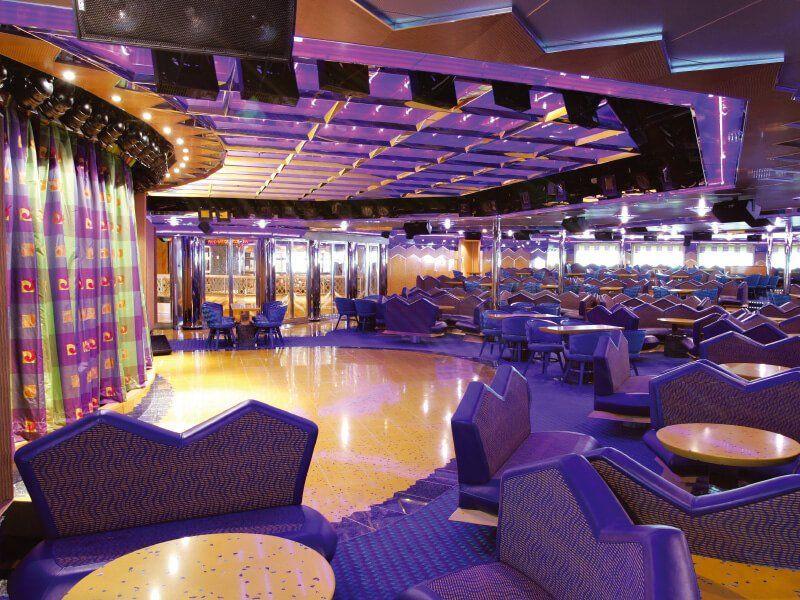 Salle des spectacles du bateau de croisière Costa Magica