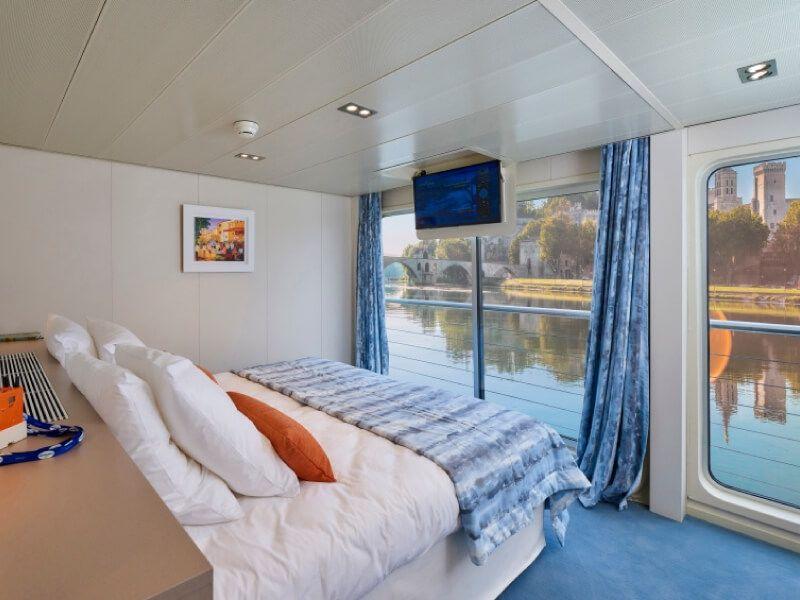 Cabine double du bateau MS Van Gogh