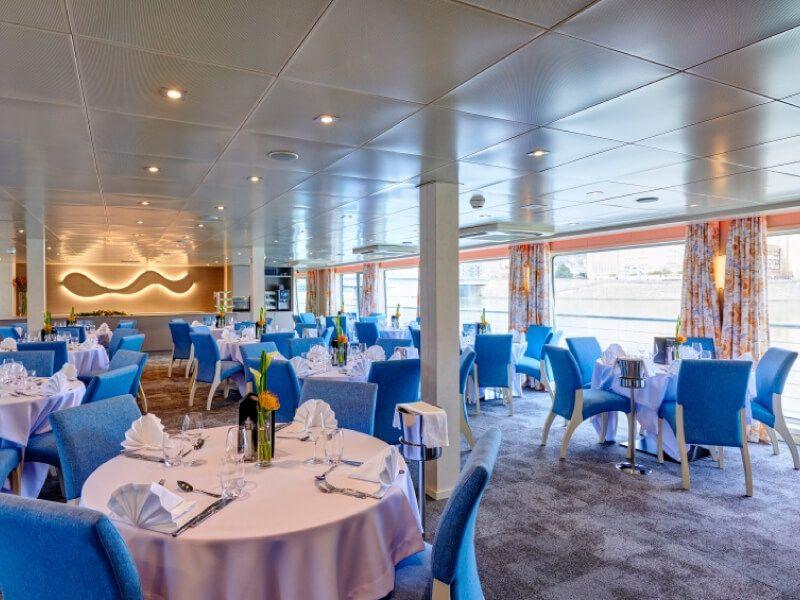 Restaurant du bateau MS Van Gogh