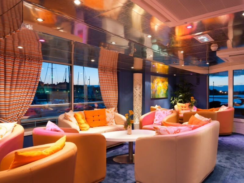 Panorama bar du bateau MS Princesse d'Aquitaine