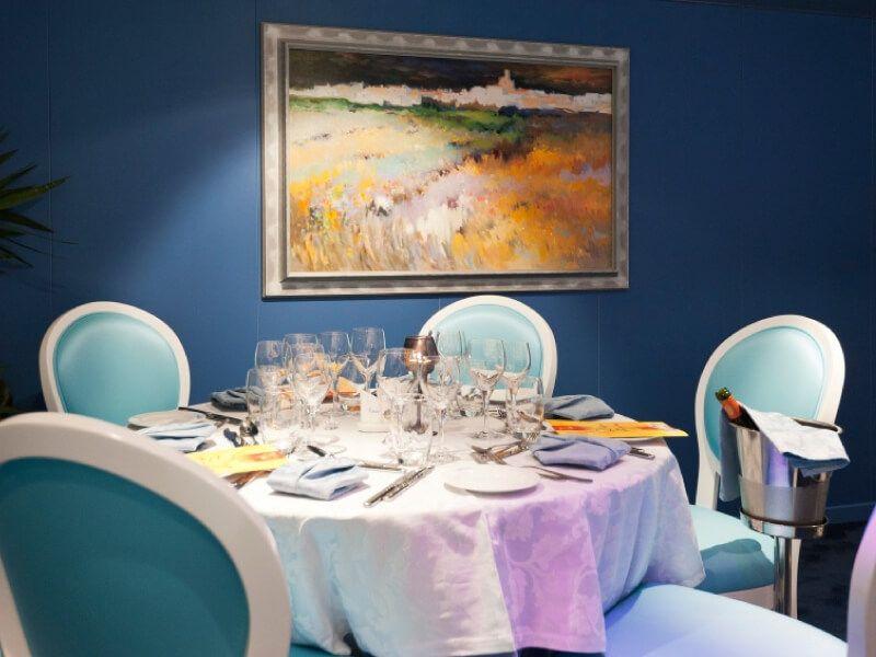 Restaurant du bateau MS Princesse d'Aquitaine