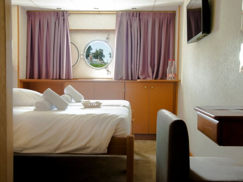 Cabine double du bateau MS La Belle de Cadix