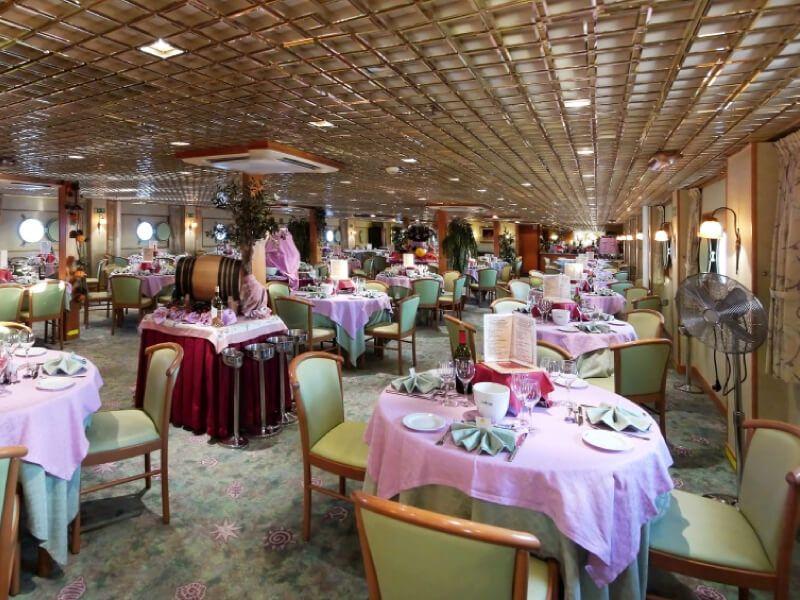 Restaurant du bateau MS La Belle de Cadix