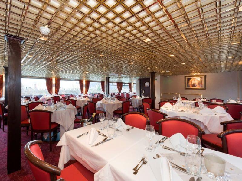 Restaurant du bateau MS Mona Lisa
