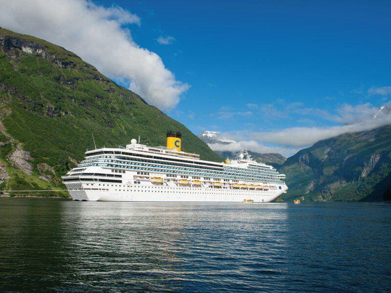 Croisière Fjord à bord bateau de croisière Costa Fortuna