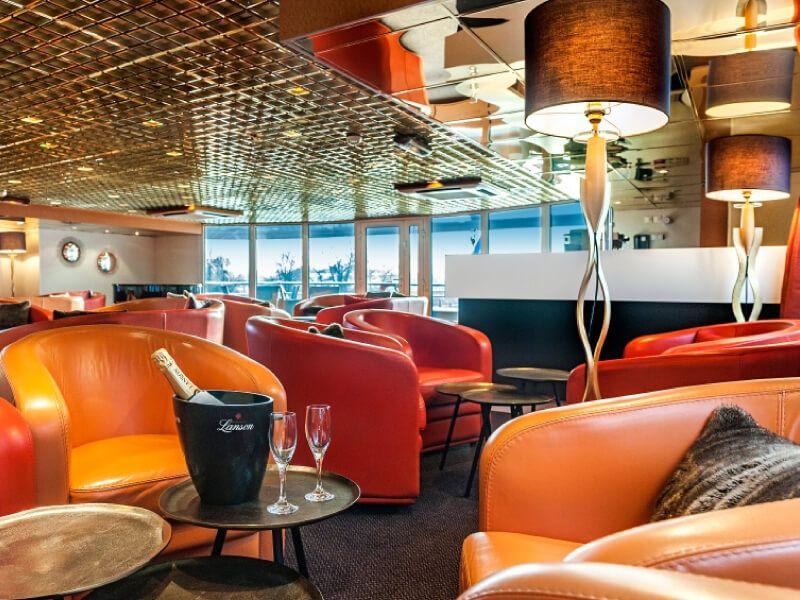 Pianorama bar du bateau MS L'Europe