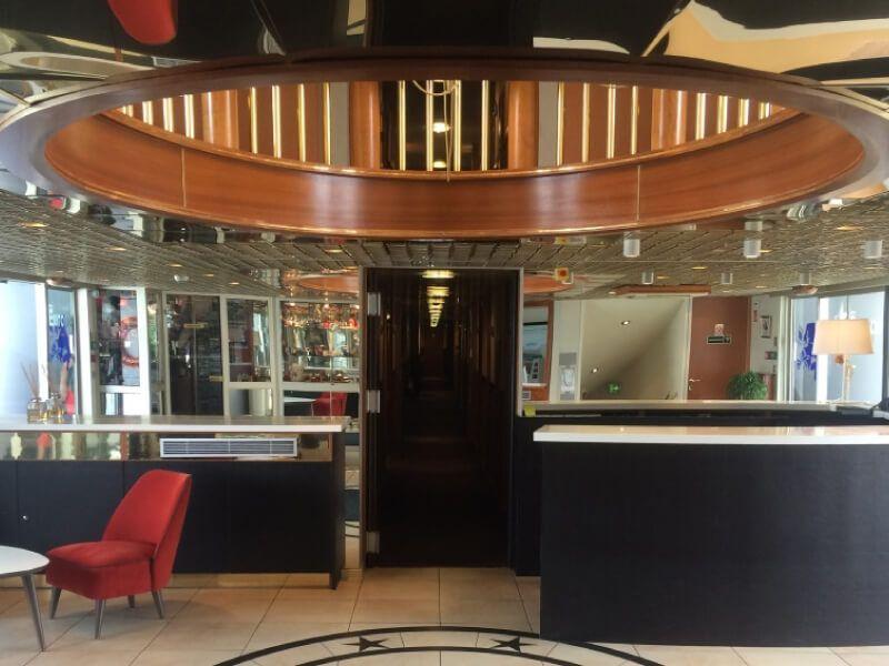 Réception du bateau MS L'Europe