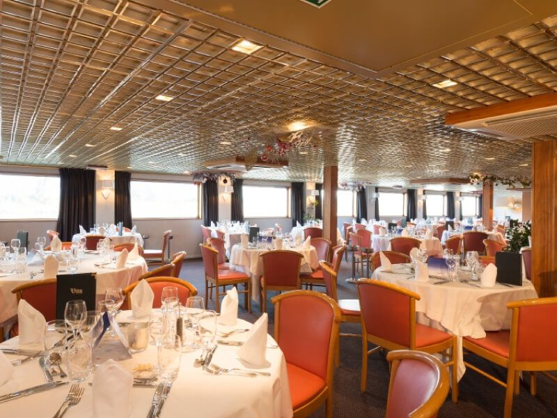 Restaurant du bateau MS L'Europe