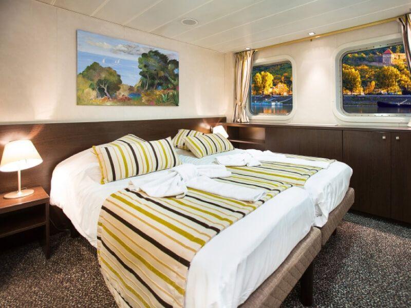 Cabine double du bateau MS Vivaldi