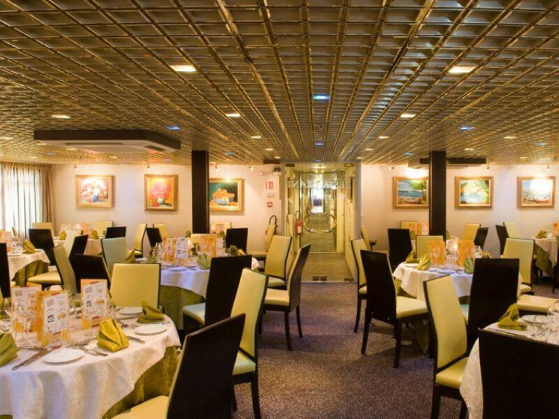 Restaurant du bateau MS Vivaldi