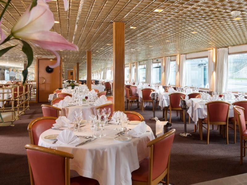 Restaurant du bateau MS Seine Princess