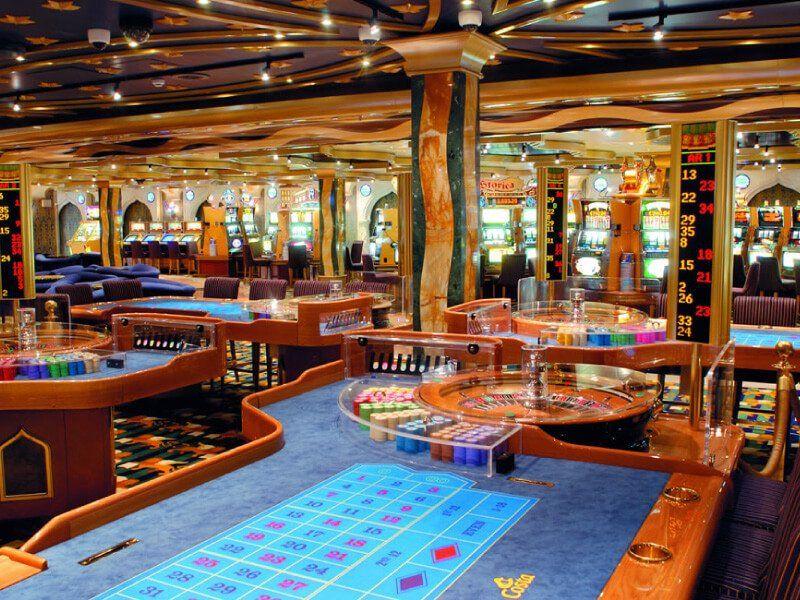 Casino du bateau de croisière Costa Mediterranea