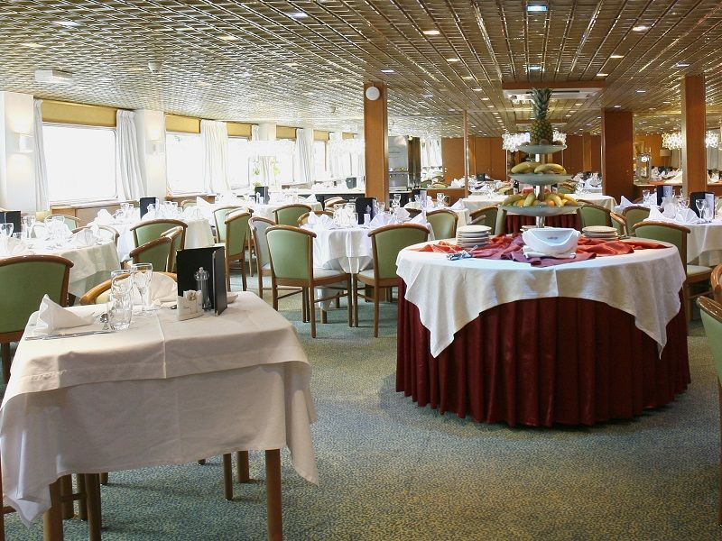 Restaurant du Ms Fernao de Magalahes