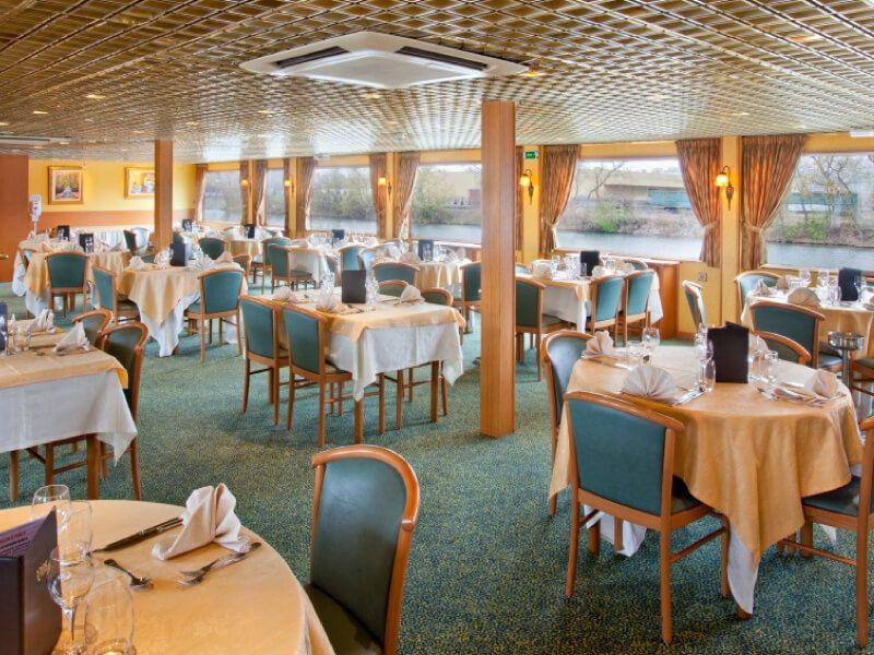 Restaurant du bateau MS Léonard de Vinci