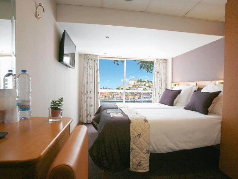 Cabine deux lits du bateau MS Infante don Henrique