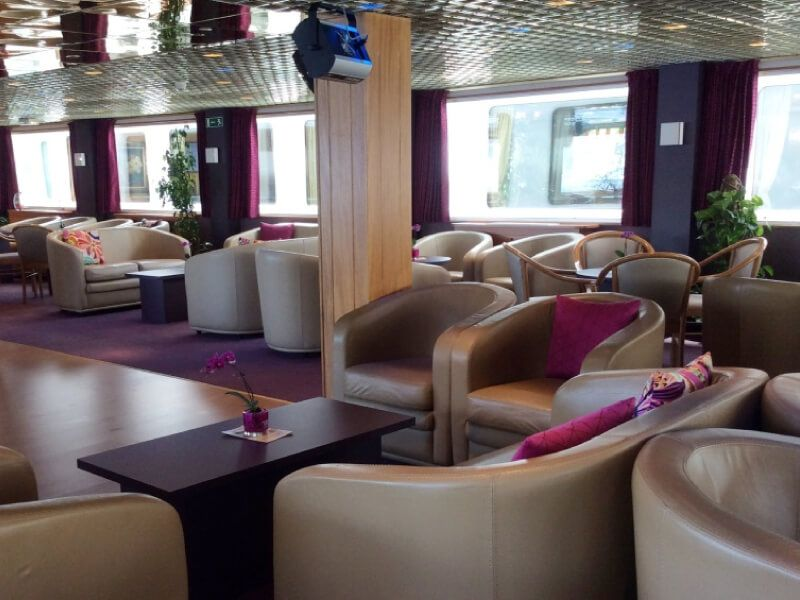 Salon bar du bateau MS Infante don Henrique