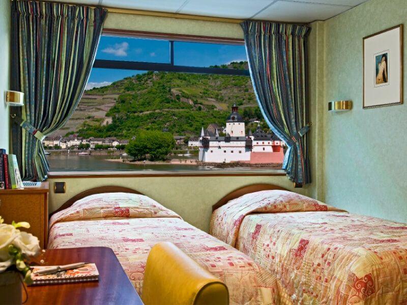Cabine du bateau MS Modigliani