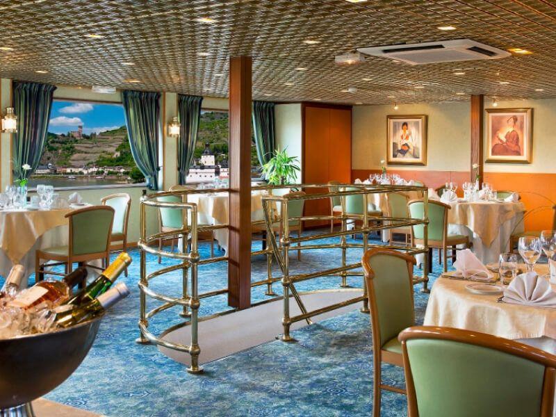 Restaurant du bateau MS Modigliani
