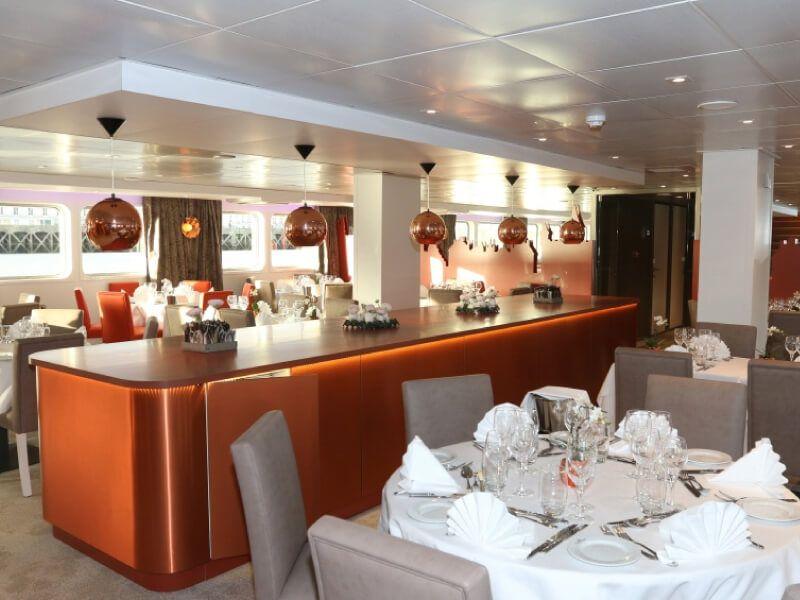 Restaurant du bateau MS Loire Princesse