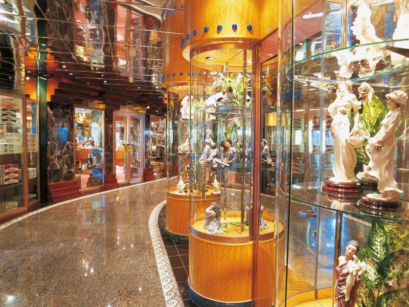Boutique  du navire de croisière Costa Atlantica
