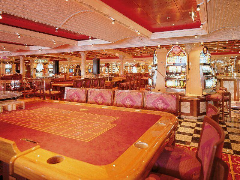 Casino  du navire de croisière Costa Atlantica