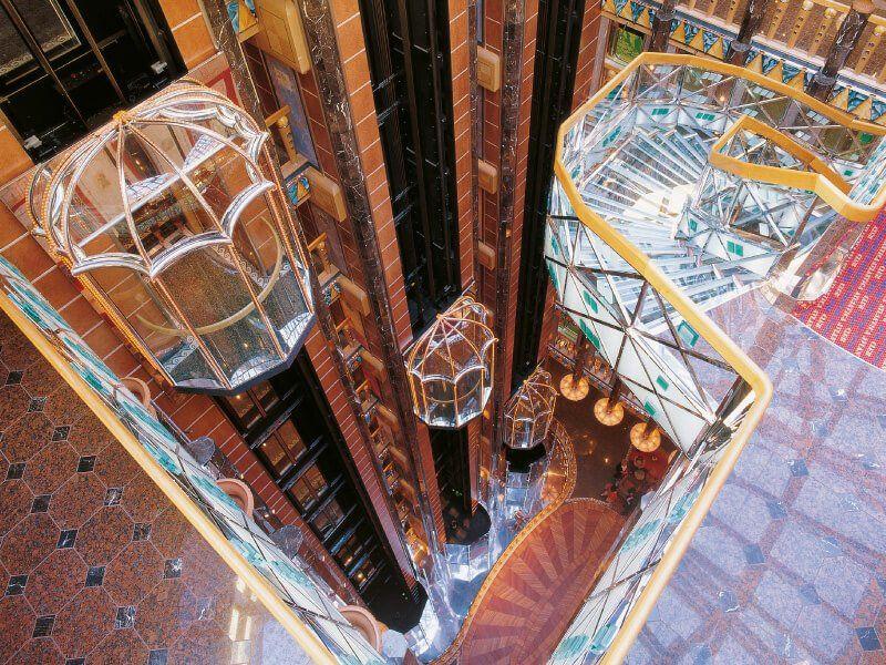 Ascenseur du navire de croisière Costa Atlantica