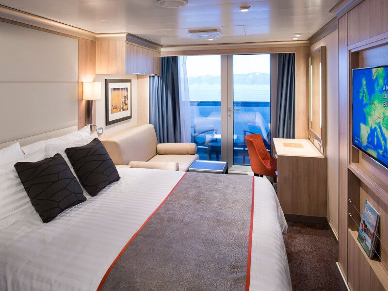 Cabine balcon du bateau MS Nieuw Statendam
