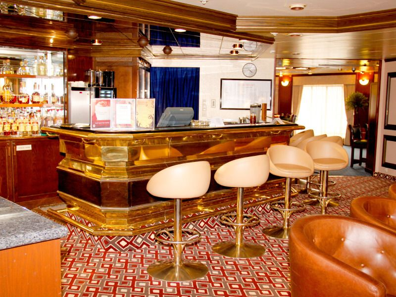 Bar Java du bateau de croisière MS Prinsendam