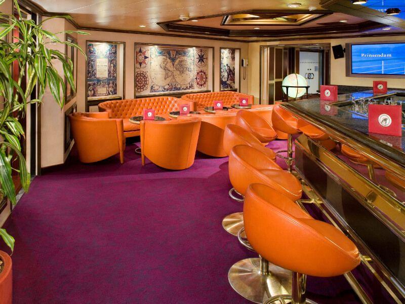 Café JAVA du bateau de croisière MS Prinsendam