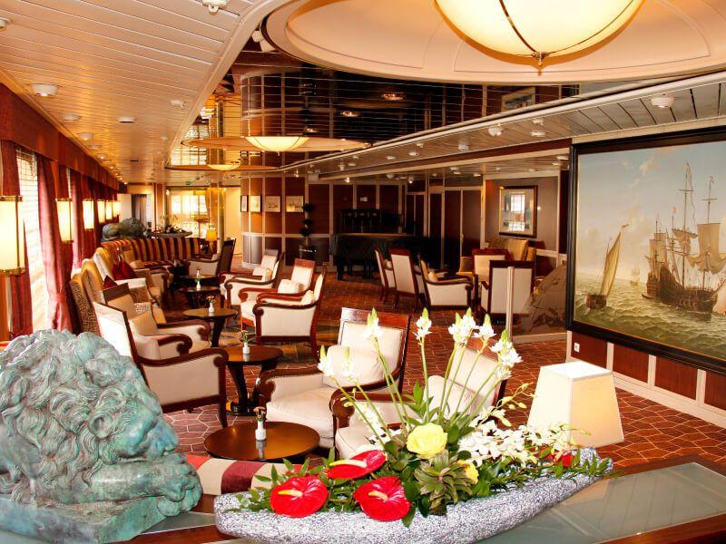 EXPLORER Lounge du bateau de croisière MS Prinsendam
