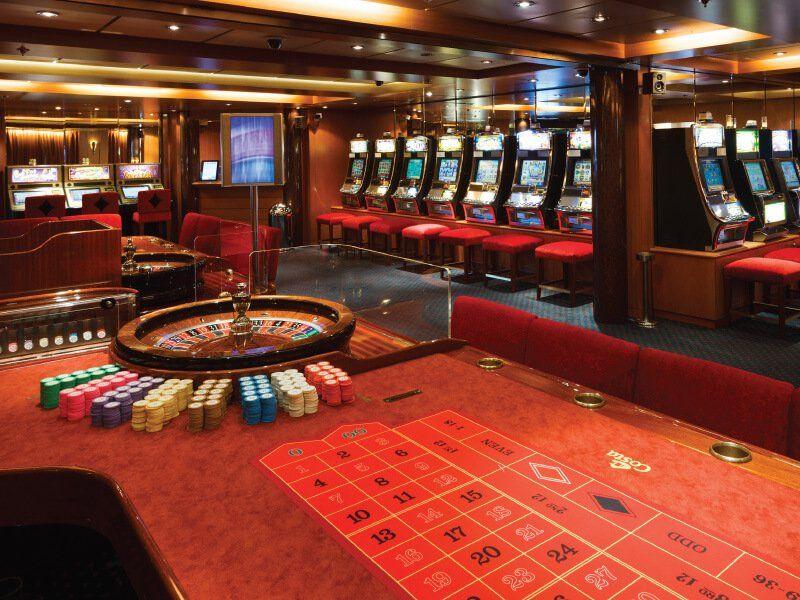 Casino  du navire de croisière Costa Neoriviera