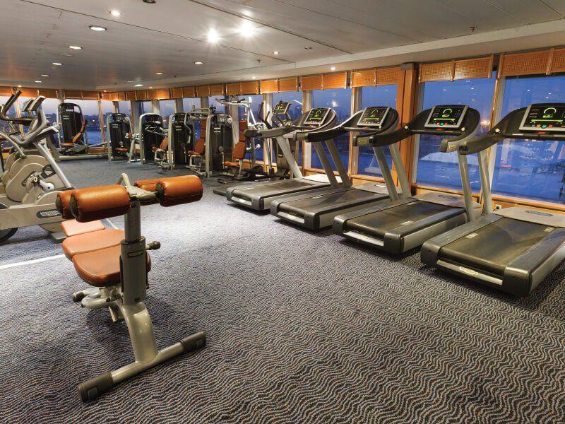 Salle de sport du navire de croisière Costa Neoriviera