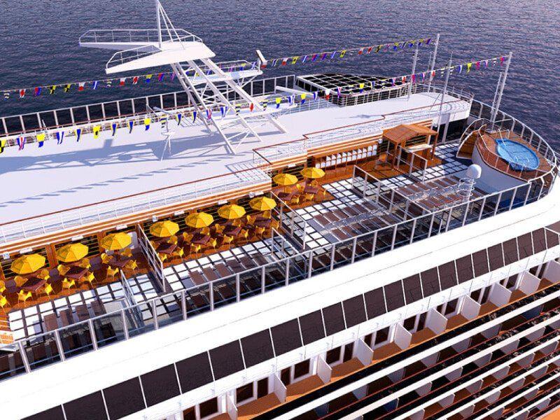 Bar adulte du bateau de croisière Costa Diadema