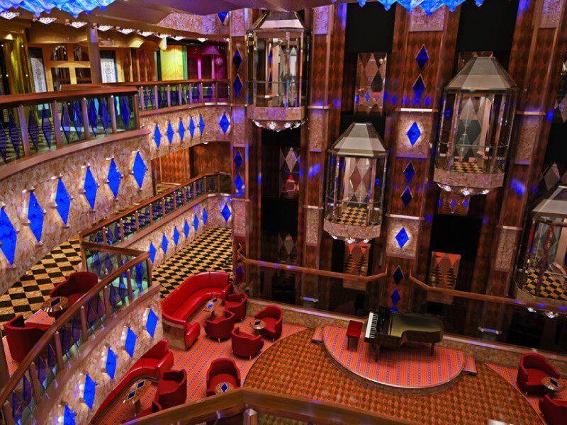 Réception du bateau de croisière Costa Diadema