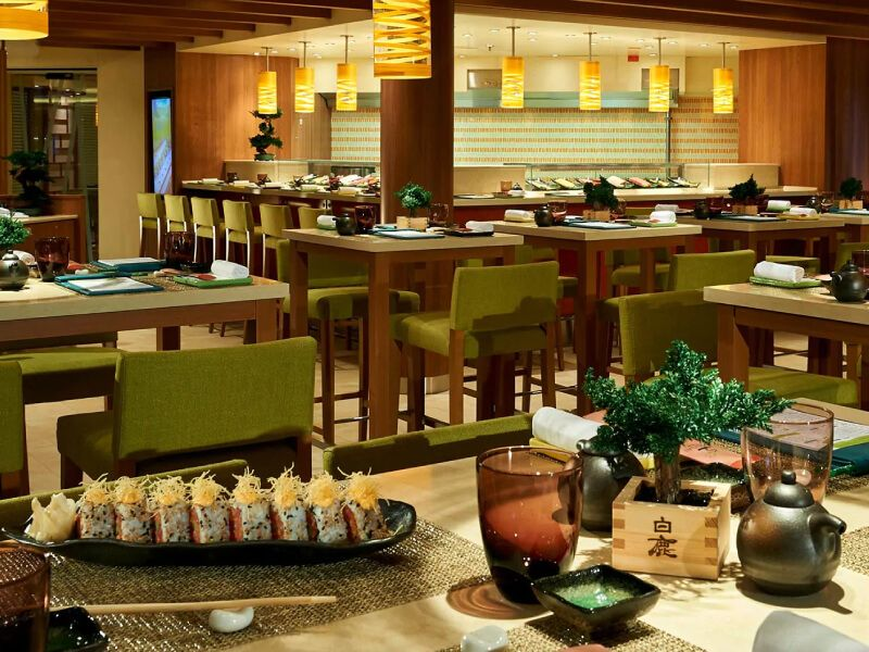 Bonsai Sushi du bateau de croisière Carnival Sunshine