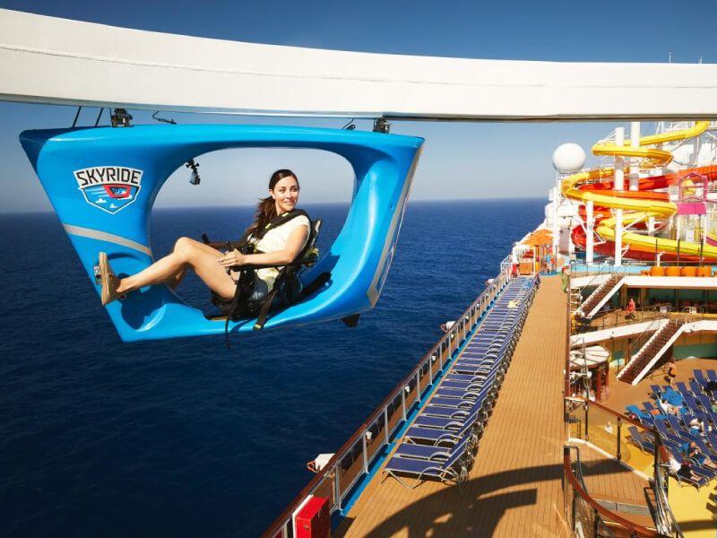 SkyRide du bateau de croisière Carnival Sunshine