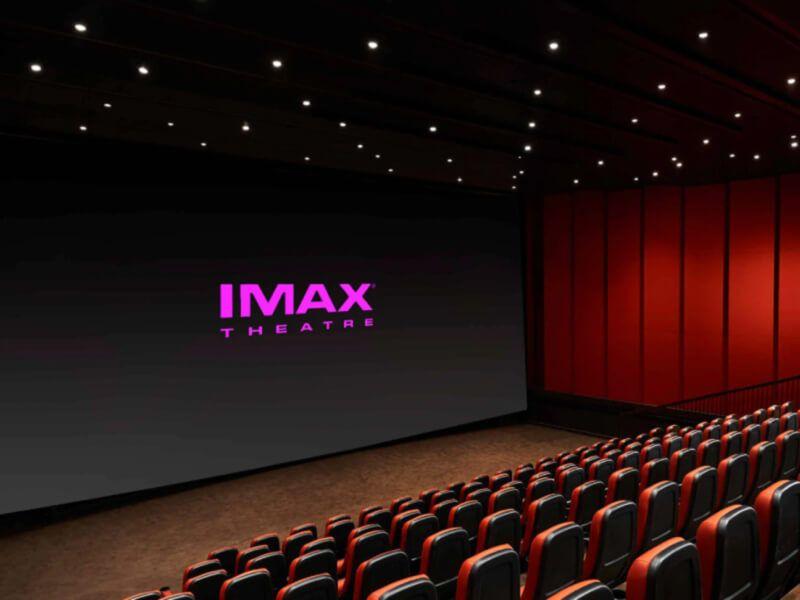 Théâtre IMAX du bateau de croisière Carnival Glory