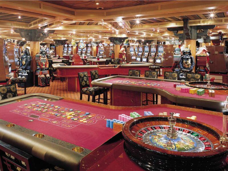 Casino du bateau de croisière Carnival Valor